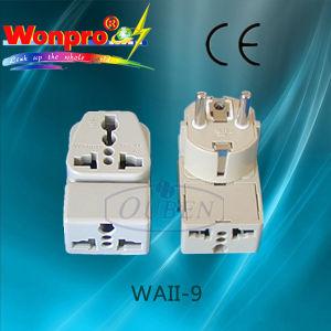 Universal Adapter WAII-9 (Socket, Plug) pictures & photos
