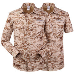 Hot Selling Desert Camo Color Men′s Outdoor Breathable Quick-Drying Long-Sleeved Shirt pictures & photos