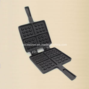 Preasedoned Cast Iron Pancake Mold Factory Supply pictures & photos