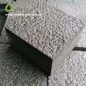 Bush Hammered Surface Other Sides Sawn-Cut Grey Color Cube Pavers with High Quality pictures & photos