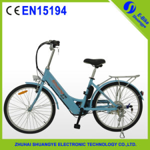 Shuangye 250W Motor Lithium Battery Motorized Bike (A5) pictures & photos