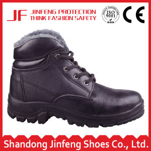 2017 Microfiber Leather PU Injection 6 Months Guarantee Safety Boots Shoes pictures & photos
