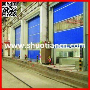 Industrial Automatic Rapid Roll Door, PVC Fabric Rapid Roll up Door (ST-001) pictures & photos