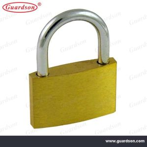 Thin Type Brass Padlock with Steel Key (501003) pictures & photos