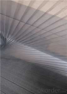 Polyester Pleated Mosquito Net for Pleated System pictures & photos