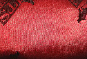 100%Polyester Cationic Jacquard Fabric pictures & photos