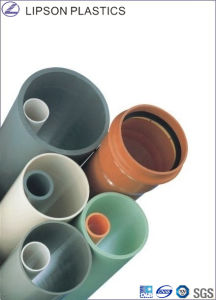 Gasketed Pipe/ UPVC Pipe / Rrj Pipe pictures & photos
