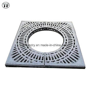 Low Price High Strenth Ductile Cast Iron Tree Gratings with Black Bitument Painting pictures & photos
