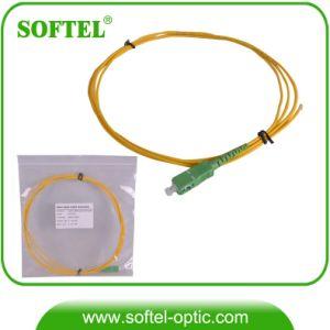 Sc/APC Sm Simplex Fiber Optic Patch Cord pictures & photos