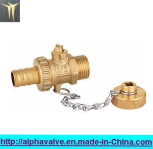 Standard Bore Brass Ball Valve with Cap (a. 0126) pictures & photos