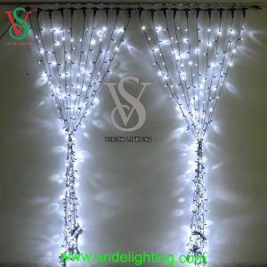 PVC Cable Christmas LED Curtain Light pictures & photos