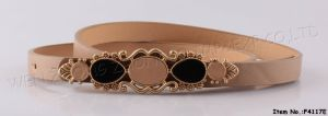 New Leather Beautiful Belt with SGS (F4117E) pictures & photos