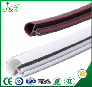 U Metal Edge Clamp Rubber Seal Strip with Custom Thickness pictures & photos