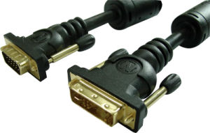 DVI to VGA Cable F-M pictures & photos