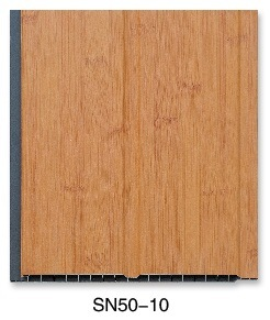 Grooved Laminated PVC Wall Panel (SN50-10) pictures & photos