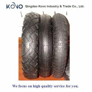 400/8 Big Diamond Pattern Wheelbarrow Tyre and Tube pictures & photos