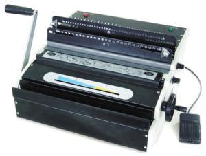 Spiral Binding Machine (YD-WM800E) pictures & photos