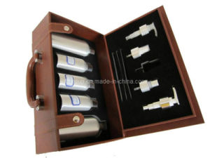 Hot Selling New Design Classical Durable Leather Wine Box (FG8005) pictures & photos
