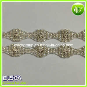 Factory Wholesale Decorative Crystal Rhinestones Chain Trimming