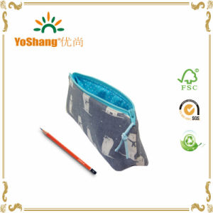 Printed Canvas Children Student Duarable School Gift Pencil Bag pictures & photos