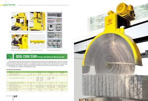Bridge Multiblade Block Cutter (QSQ2200/2500/3000) for Granite/Marble Cutting - Stone Cutting Machinery pictures & photos