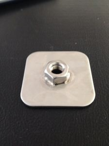 Hot Sell Weld Steel Nut (316 stainless steel)