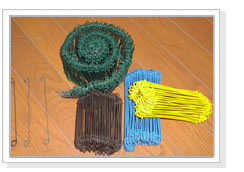 Plastic Coated Wire Bag Ties pictures & photos