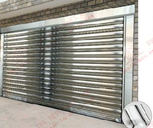 Exterior Motoried Stainless Steel Roller Shutter (BHS-SD04) pictures & photos