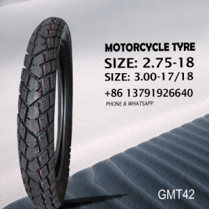 Motorcycle Butyl Tube and Tyre 3.00-18 3.00-17 2.75-18 pictures & photos