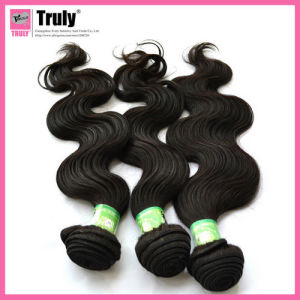 """100% Peruvian Remy Virgin Human Hair Extension, Body Wave, 12""""-30"""", Natural Color"""
