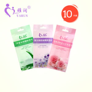 China manufacturer Alcohol Free OEM 100% Biodegradable Organic Baby Wipes 10PCS pictures & photos