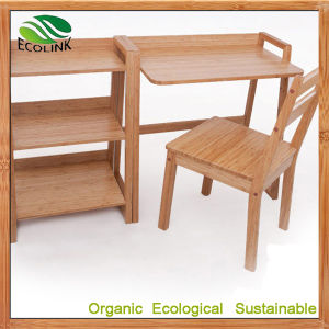 Natrual Bamboo Desk and Chair for School Furniture pictures & photos