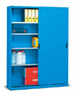 Storage Cabinet With Movable Door
