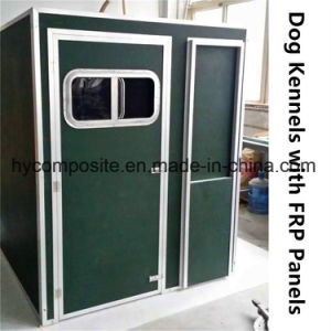 Fiberglass Dog Kennel with FRP Sandwich Panels pictures & photos