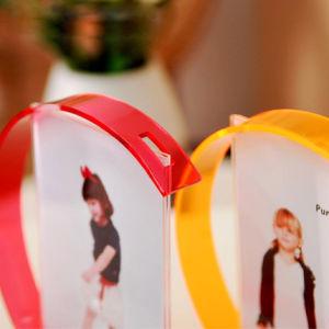 6 Inch Creative Acrylic Wedding Photo Frame pictures & photos