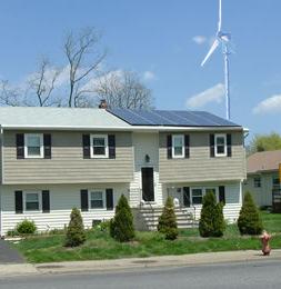 Wind Solar Hybird Power System (MNH-6.2kW)