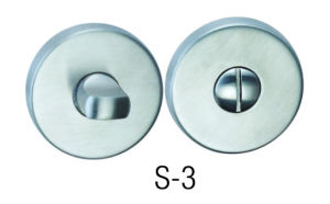 High Quality 304 Stainless Steel Wc Knob (S-3)