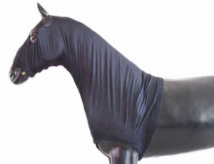 Horse Protection Product Lycra Neck Cover Hood (SMN15169) pictures & photos