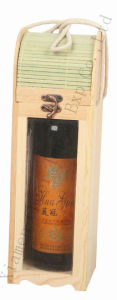 Red Wine Bottle Wooden Box pictures & photos