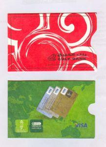 Tyvek ATM Card Sleeves