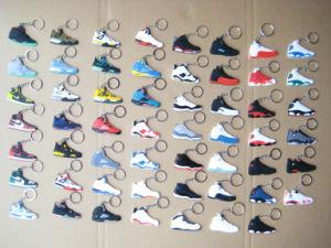 Jordane Sneaker Shoes Soft PVC Keychains (ASNY-JL-key chain-13060602) pictures & photos