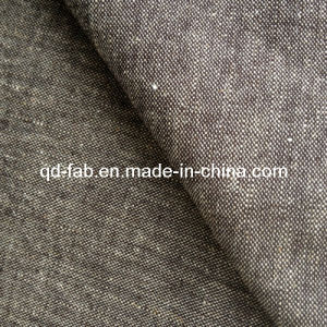 Cotton/Linen/Spandex Denim Fabric Jean Fabric (QF13-0733) pictures & photos