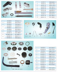 Parts of Imported Spooler/OE Spinning Machine