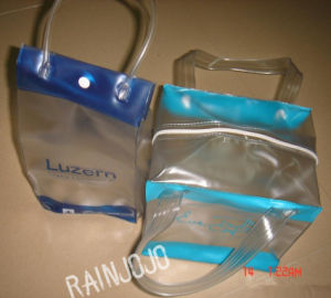 Fashion Eco-Friendly PVC Shopping Bag for Women pictures & photos
