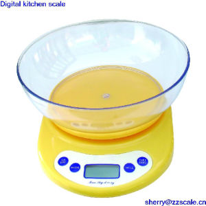 3kg Electronic Kitchen Scale Weighing Apparatus Food Balance pictures & photos