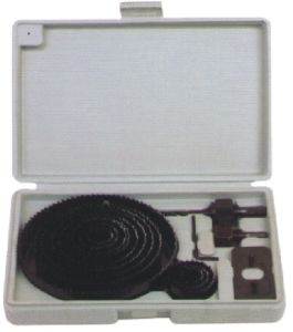 16PC High Carbon Steel Hole Saw Set (WR-023002)