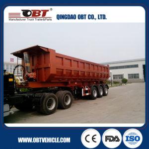 3 Axle 70 Ton Dump Truck Semi Trailer pictures & photos