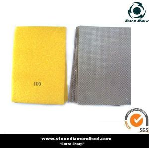 Electroplated Hand Polishing Paper Pads pictures & photos