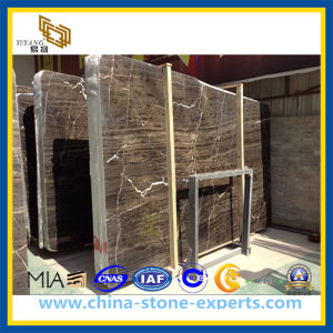 Polished Wood Brown Marble Slab (YQZ-MS1011) pictures & photos