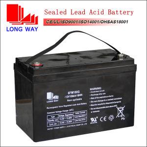 12volt 100ah UPS Battery Manufacture 12volt 100ah Rechargeable Sealed Lead Acid Battery pictures & photos